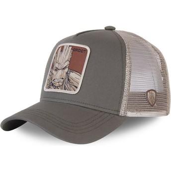 Capslab Groot GRO3 Marvel Comics Green Trucker Hat