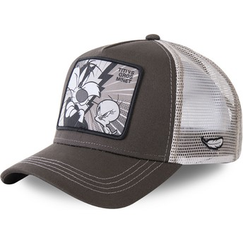 Capslab Sylvester Vs Tweety TVG2 Looney Tunes Brown Trucker Hat