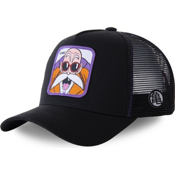Capslab Master Roshi KAMC Dragon Ball Black Trucker Hat