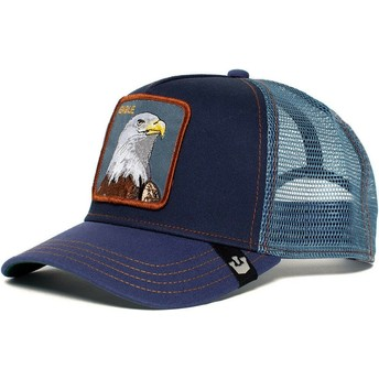 Goorin Bros. Eagle Navy Blue Trucker Hat