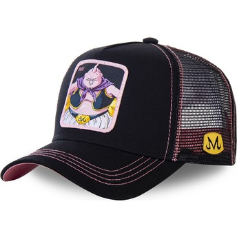 Capslab Buu BIG3 Dragon Ball Black and Pink Trucker Hat