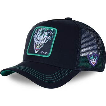 Capslab Joker JOK2 DC Comics Black and Green Trucker Hat