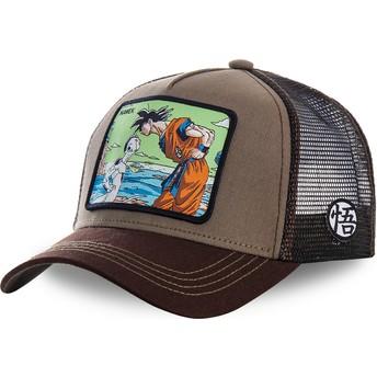 Capslab Goku Vs Frieza Namek NAM2 Dragon Ball Brown Trucker Hat
