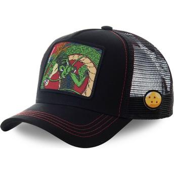 Capslab Shenron RON3 Dragon Ball Black Trucker Hat