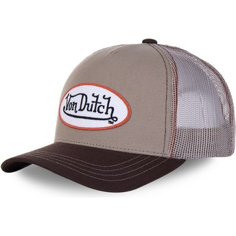 Von Dutch BRO Brown Trucker Hat