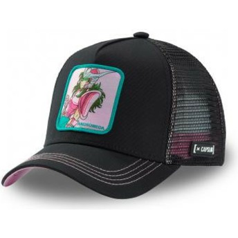 Capslab Andromeda Shun AND3 Saint Seiya: Knights of the Zodiac Black Trucker Hat