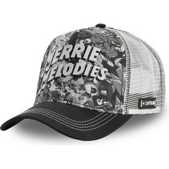 Capslab Merrie Melodies BAW1 Looney Tunes Black and White Trucker Hat