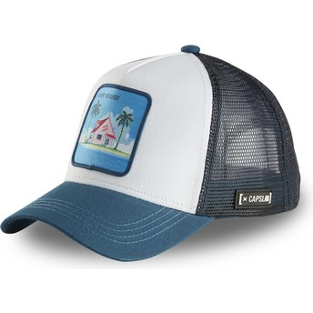 Capslab Kame House HOU2 Dragon Ball White and Blue Trucker Hat