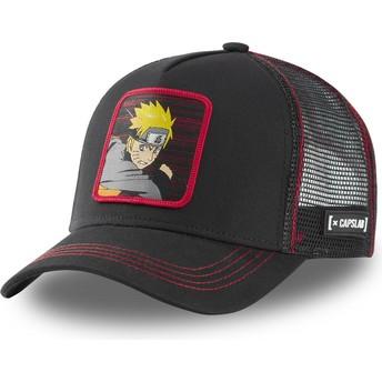 Capslab Naruto Uzumaki NAR2 Black Trucker Hat