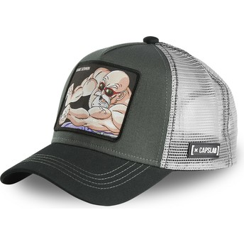 Capslab Master Roshi NIN1 Dragon Ball Grey Trucker Hat
