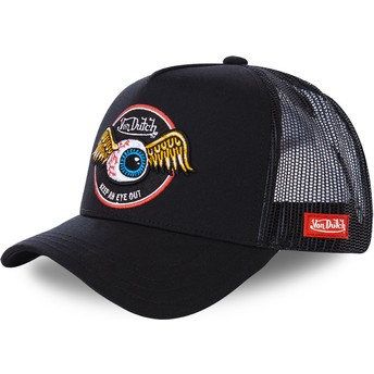 Von Dutch BLK Black Trucker Hat