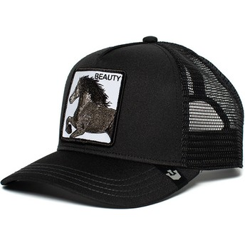 Goorin Bros. Horse Black Beauty Black Trucker Hat