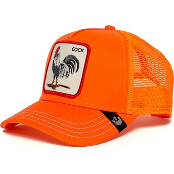 Goorin Bros. Rooster Hot Male Orange Trucker Hat