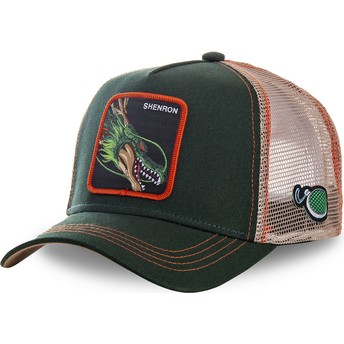 Capslab Youth Shenron KID_SHEN Dragon Ball Green Trucker Hat