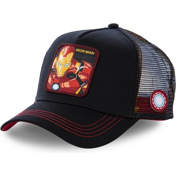 Capslab Youth Iron Man KID_IRO2 Marvel Comics Black Trucker Hat