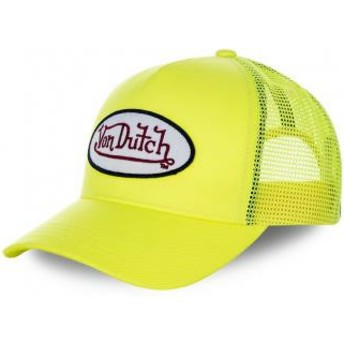 Von Dutch Youth KID_FRESH5 Yellow Trucker Hat
