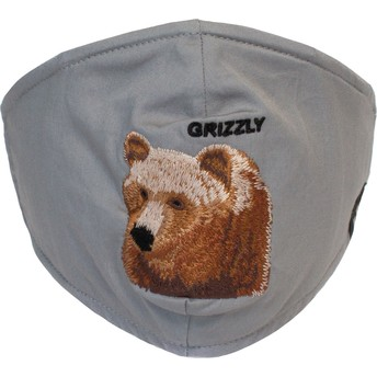 Goorin Bros. Bear Mountain Grey Reusable Face Mask