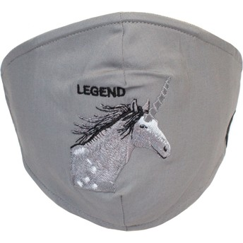 Goorin Bros. Unicorn Living Legend Grey Reusable Face Mask