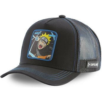 Capslab Naruto Uzumaki Rasengan RAS2 Black Trucker Hat