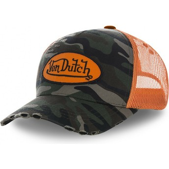 Von Dutch CAMO06 Camouflage Trucker Hat