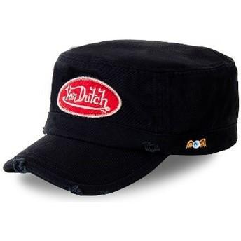 Von Dutch ARM5 Black Army Cap