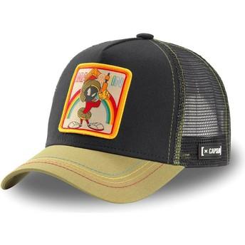Capslab Marvin the Martian LOO MAR1 Looney Tunes Black and Khaki Trucker Hat