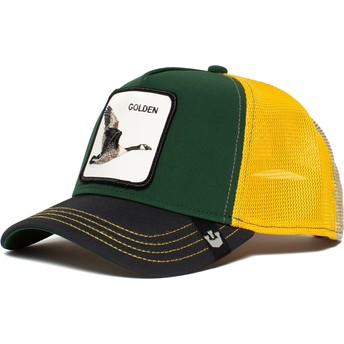 Goorin Bros. Golden Goose Green, Black and Yellow Trucker Hat