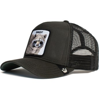 Goorin Bros. Raccoon Bandit Black Trucker Hat