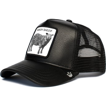 Goorin Bros. Sheep Game Changer Black Trucker Hat
