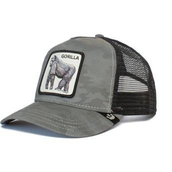 Goorin Bros. Gorilla Silverback Camouflage and Grey Trucker Hat
