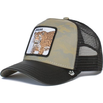 Goorin Bros. Jaguar Pride Boss Camouflage, Grey and Black Trucker Hat