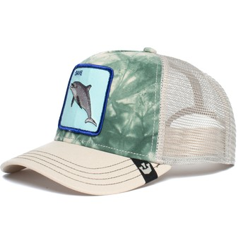 Goorin Bros. Dolphin Plastic Death Grey Trucker Hat