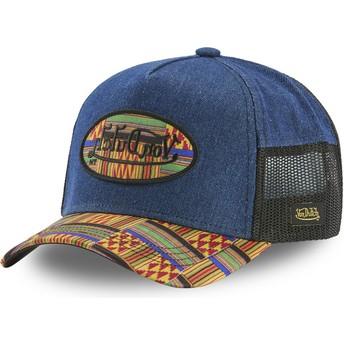 Von Dutch ATRU WAX Blue Trucker Hat