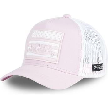 Von Dutch FLAG PP Pink Trucker Hat