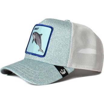 Gorra trucker azul delfín Flippy Floppy de Goorin Bros.