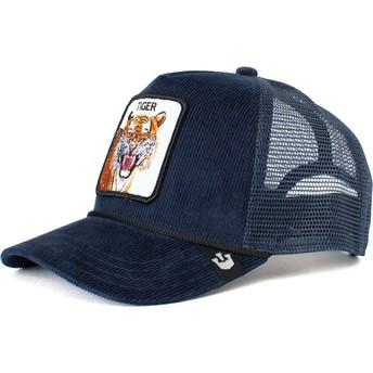 Goorin Bros. Tiger Rage Navy Blue Trucker Hat