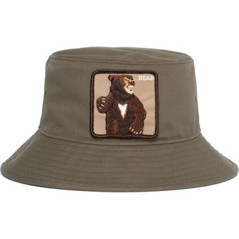 Goorin Bros. Fighting Bear Green Bucket Hat