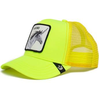 Goorin Bros. Unicorn Legend Show Pony The Farm Yellow Trucker Hat