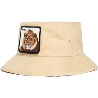 Goorin Bros. King Lion Around The Farm Brown Bucket Hat