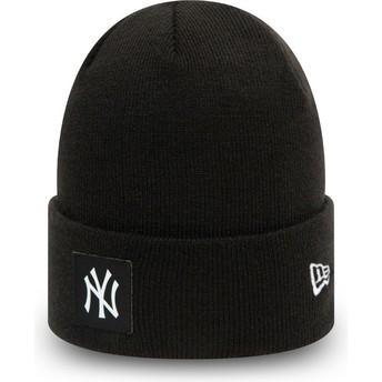 New Era Team Cuff New York Yankees MLB Black Beanie