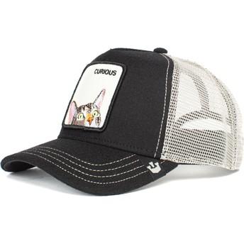 Goorin Bros. Cat Curious Peek A Boo The Farm Black Trucker Hat