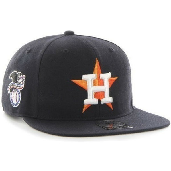 47-brand-flat-brim-houston-astros-mlb-sure-shot-black-snapback-cap