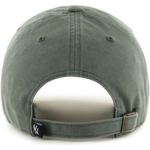 47-brand-curved-brim-dark-green-logo-new-york-yankees-mlb-clean-up-green-cap