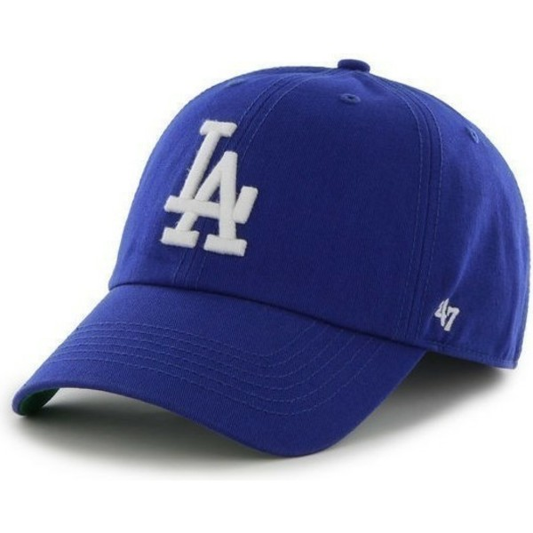 47-brand-curved-brim-los-angeles-dodgers-mlb-franchise-blue-cap
