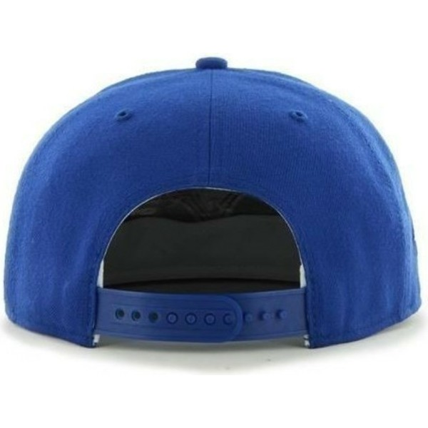 47-brand-flat-brim-side-logo-mlb-los-angeles-dodgers-smooth-blue-snapback-cap