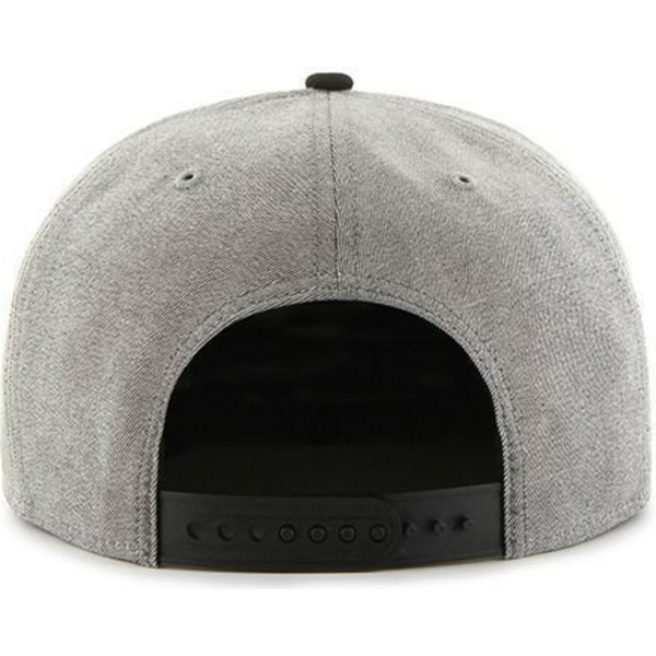 47-brand-flat-brim-mlb-new-york-yankees-smooth-grey-snapback-cap