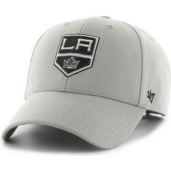 47 Brand Curved Brim NHL Los Angeles Kings Grey Cap