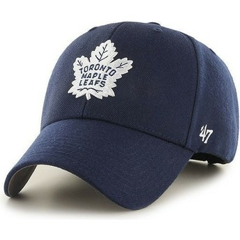 47 Brand Curved Brim NHL Toronto Maple Leafs Navy Blue Cap