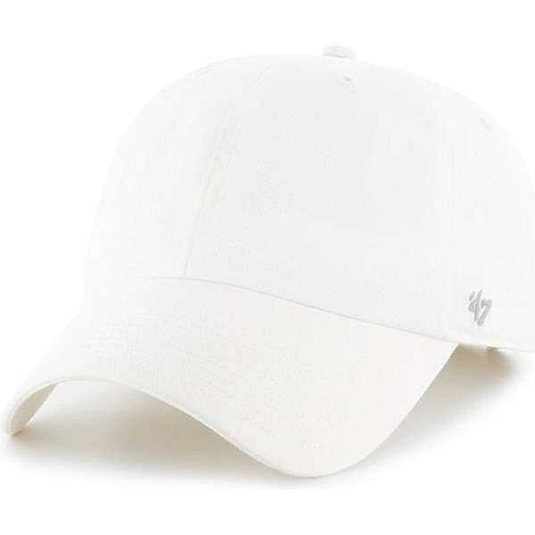 47-brand-curved-brim-smooth-white-cap