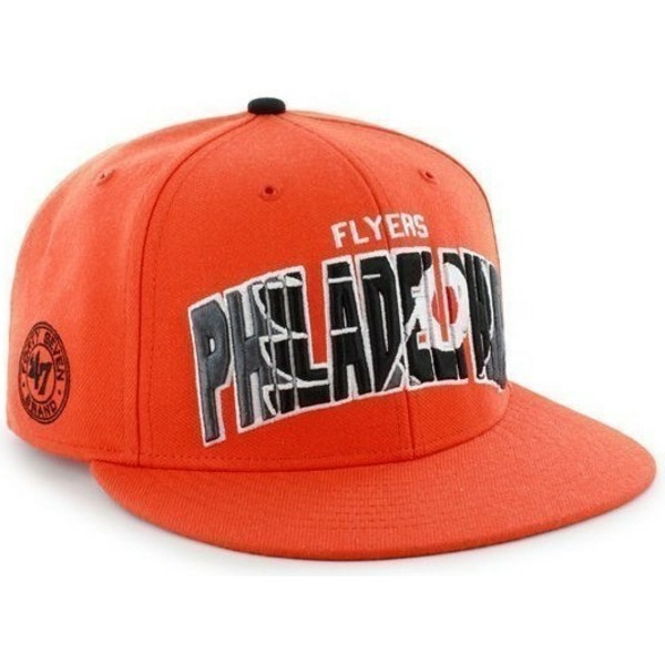 47-brand-flat-brim-large-front-logo-nhl-philadelphia-flyers-orange-snapback-cap